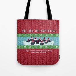 Lump of Coal / Christmas Sweater Tote Bag