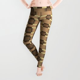 wicker seamless pattern Leggings