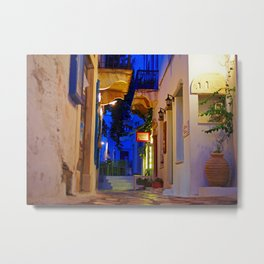 Early Tinos morning Metal Print