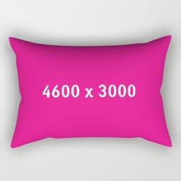 3000x2400 Placeholder Image Artwork (Pink) Rectangular Pillow