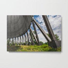 Cooling Tower Metal Print
