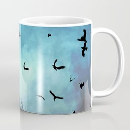 And the sun went down behind the clouds Coffee Mug