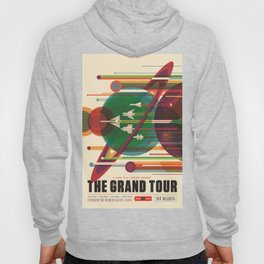 The Grand Tour : Vintage Space Poster Hoody