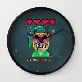 Im Not Zelda. Wall Clock