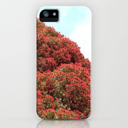 Pohutukawa iPhone Case