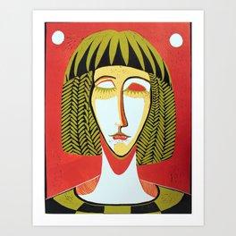 Esfinge Art Print