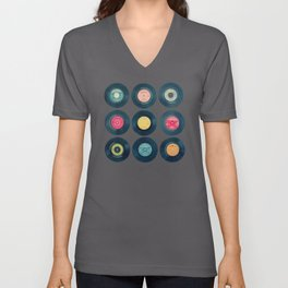 Vinyl Collection Unisex V-Neck