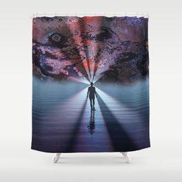 Light Seeker Shower Curtain