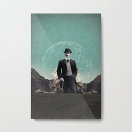 Travelling in Time Metal Print