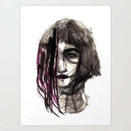 The memory Art Print