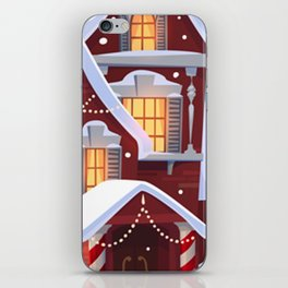 This Is My HallMark Christmas Movie Watching Shirt iPhone Skin