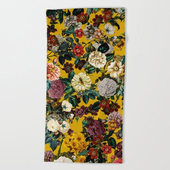 Exotic Garden V Beach Towel