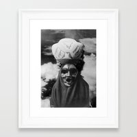 demon Framed Art Prints featuring Demon by Mrs Araneae