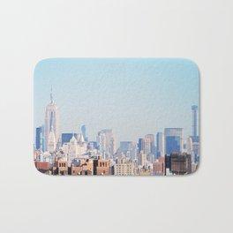 141.Vintage Skyline, New York Bath Mat