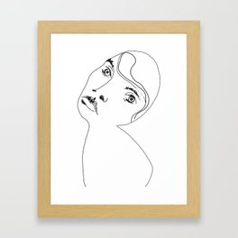 Portrait of a Lady Framed Art Print