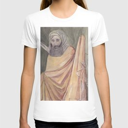 Reproduction of a Section of The Trial By Fire Fresco by Giotto T-shirt