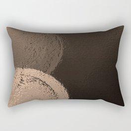 Dark Night Sepia Rectangular Pillow