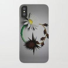 Good vs Evil iPhone X Slim Case