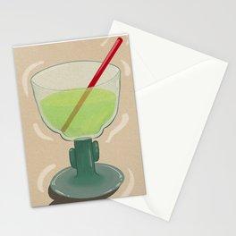 Margarita Glass Stationery Cards