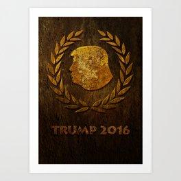 Vintage Trump Art Print