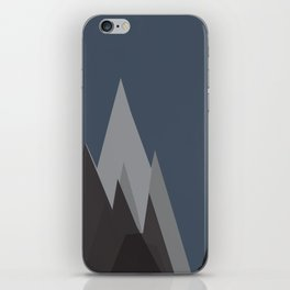 WHEN YOU REALIZE  YOU REACH THE HIGHEST MOUNTAIN . . . THERE'S ANOTHER HIGHEST MOUTAIN iPhone Skin
