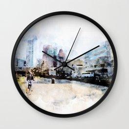 sketch the Hague 3 Wall Clock