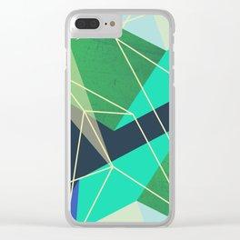 ColorBlock VI Clear iPhone Case