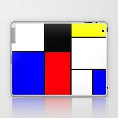Red Blue Yellow squares design Laptop & iPad Skin