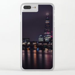 London by night Clear iPhone Case