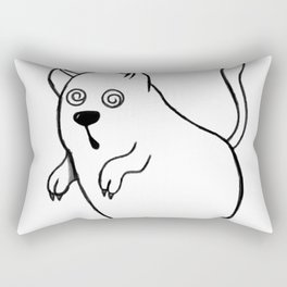 Ghost cat Rectangular Pillow