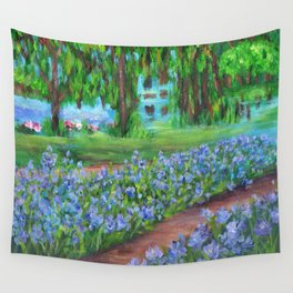Monet's Garden AC20110715a Wall Tapestry