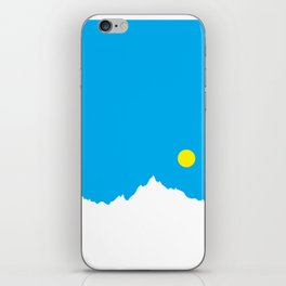 Mountain Sky Day iPhone Skin