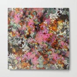 Pink erosion Metal Print