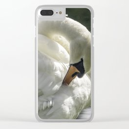 Morning Ritual Clear iPhone Case