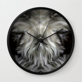 The Grey Witch Wall Clock