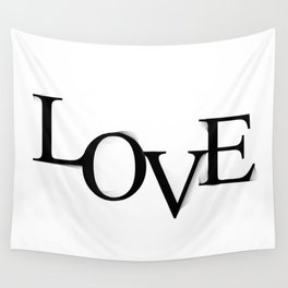 LOVE smoothness Wall Tapestry