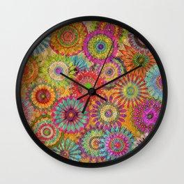 Mysterious Mandalas Wall Clock