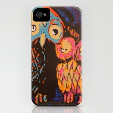 Psychedelic Owls iPhone (4, 4s) Slim Case