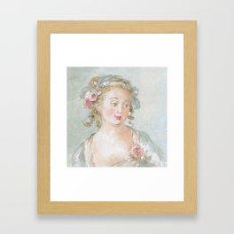 Claudette Framed Art Print