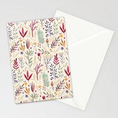 Light  Botanical Pattern Stationery Cards