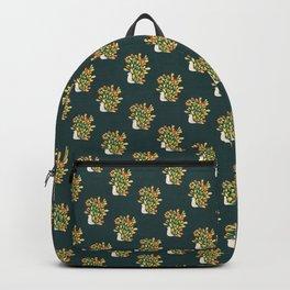 Watercolor Peacock Backpack