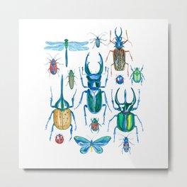 bugs collective Metal Print