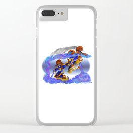 Tagger Clear iPhone Case