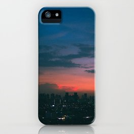 Sunsets on the Hill iPhone Case