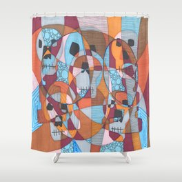 Don't lose your instincts Shower Curtain