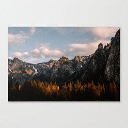 Yosemite Granite Cliffs Canvas Print