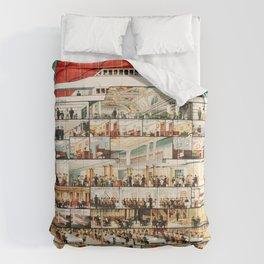 Cunard Line Comforters