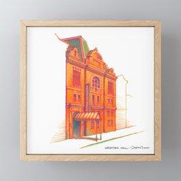 NYC Pride: Webster Hall Framed Mini Art Print