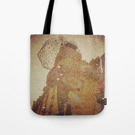 Polka Dot Brollie Tote Bag