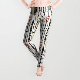 Punky retro graphic Leggings